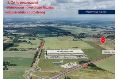 Działka w Kołbaskowie obok siedziby Amazon!!!