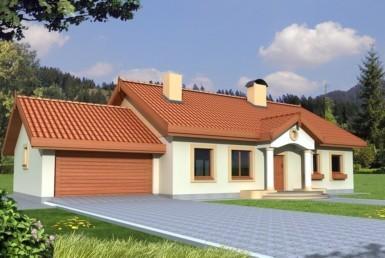 Dom wolnostojący w Białuniu