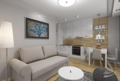 Apartament nad morzem - 2 pok. 32,2 m2
