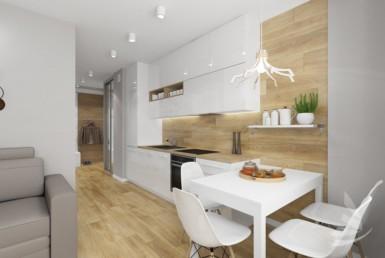 Apartament 2 pok. 33,1 m2 - 300 m od plaży