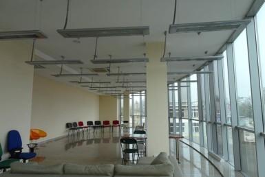 Biuro 100 m2, I p. open space