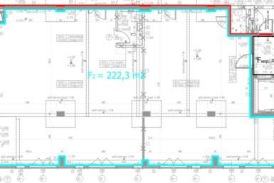 Na wynajem powierzchnia biurowa 222,3m2 w Centrum