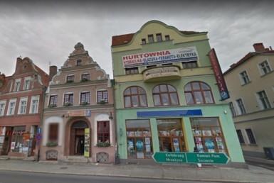 Trzebiatów - KAMIENICA w Centrum z lokalami użyt.