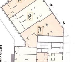 Nowy lokal 361m2, parter, wejście z ulicy, witryny