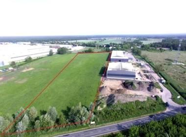 Działka przemysłowa 23831 m2 Dąbie