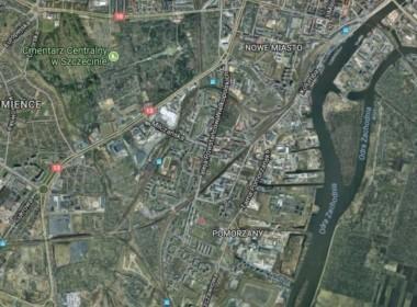 Kompleks działek przemysłowych nad Odrą