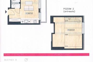Nowe 2pok mieszkanie z antresolą + garaż, Warszewo