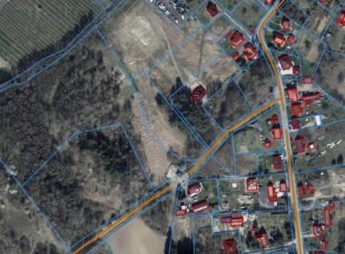 Płonia - działka rolna, zabudowa zagrodowa, plan