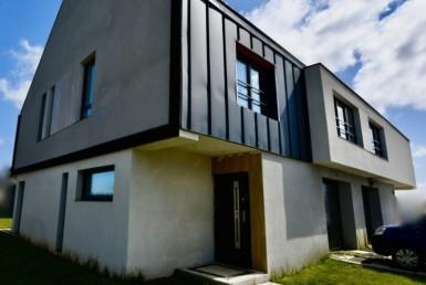 Mierzyn - nowoczesny dom w zabudowie bliźniaczej