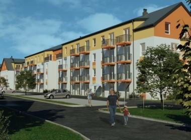 Parter, 2 pokoje+ ogródek 40,58 m2, 275 944 zł