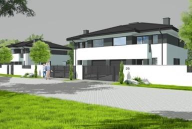 Dom bliźniak 142 m2 z garażem i ogrodem
