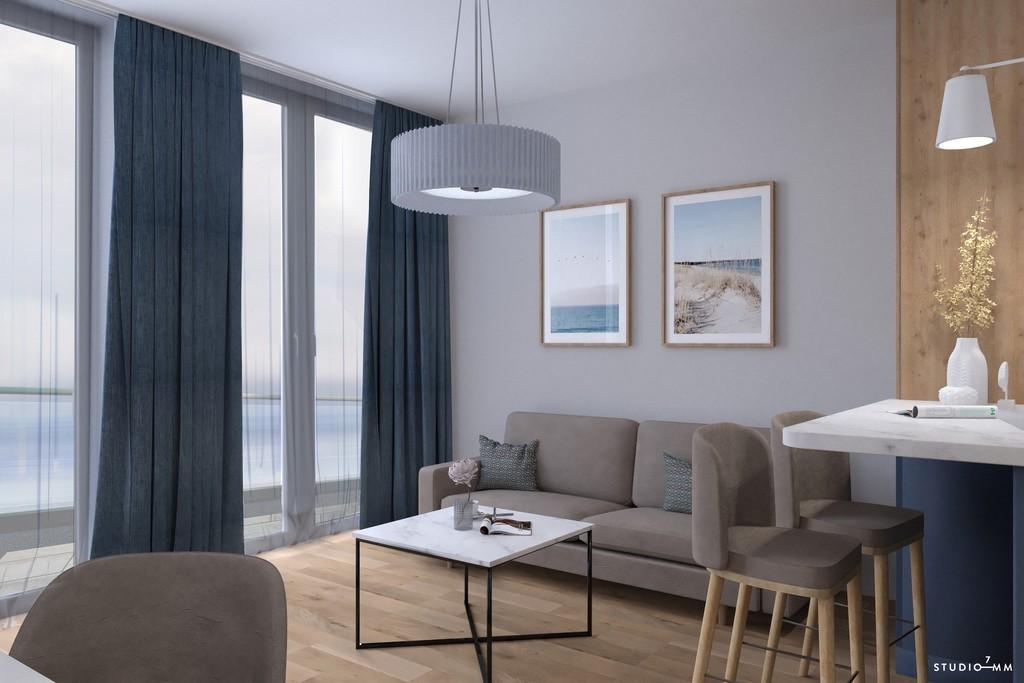 Apartamenty z widokiem na morze balkon winda
