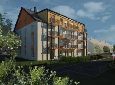 Dąbie 2 pokoje, I p. 44,7m2, balkon, 299490 zł