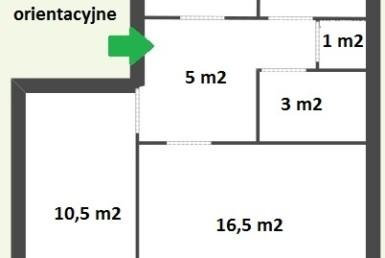 Os. Zawadzkiego - 3 pokoje w niskim bloku