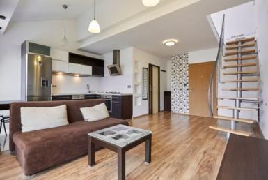 Na sprzedaż mieszkanie 2 poziomowe na Warszewie