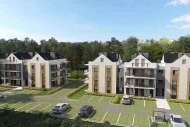 Międzywodzie - apartament z ogródkiem 72,14m2