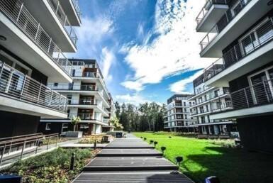 Apartament w GOLDEN TULIP Międzyzdroje+taras 45m2