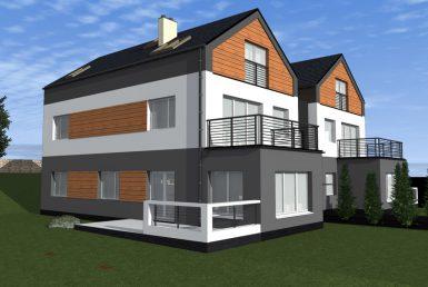 Siadło Dolne - nowe mieszkanie, ogród, garaż,taras