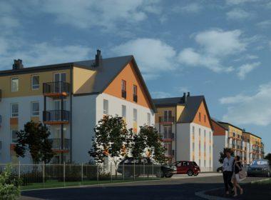 2 pokoje na nowym osiedlu w Dąbiu