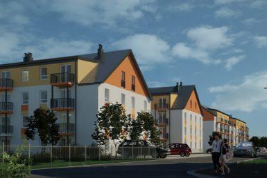3 pokoje na nowym osiedlu w Dąbiu