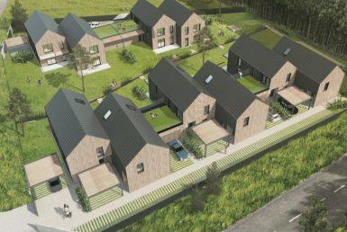 Nieruchomość gruntowa pod 10 domów bliźniaczych
