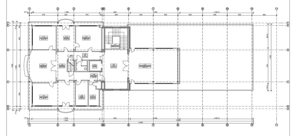Budynek biurowo-usługowy 2391m2, działka1827m2