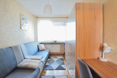 Pokój 2-osobowy w mieszkaniu 3-pokojowym