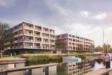 Nowoczesne apartamenty nad Jeziorem Dąbie