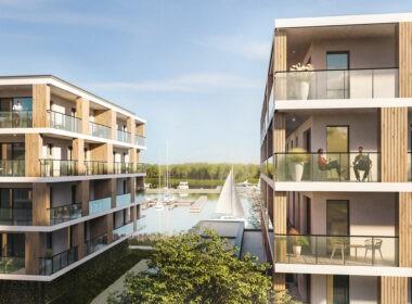 Nowoczesne apartamenty nad Jeziorem Dąbie.