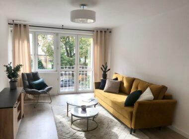 Piękne dwupokojowe mieszkanie po remoncie