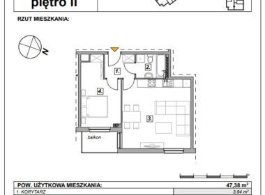 OSÓW - nowe mieszkanie