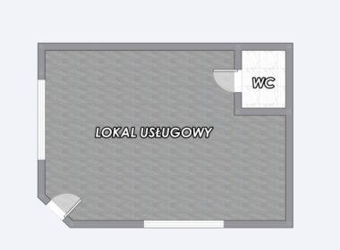 Lokal usługowy/biurowy na parterze