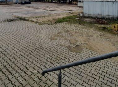 Plac utwardzony 2500 m2 +biura