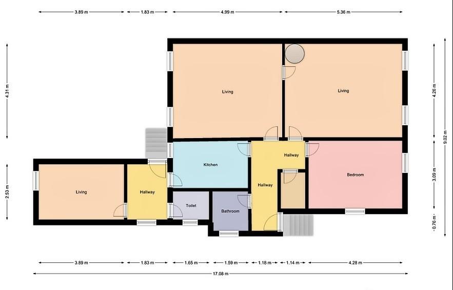 Duże mieszkanie w Kołobrzegu