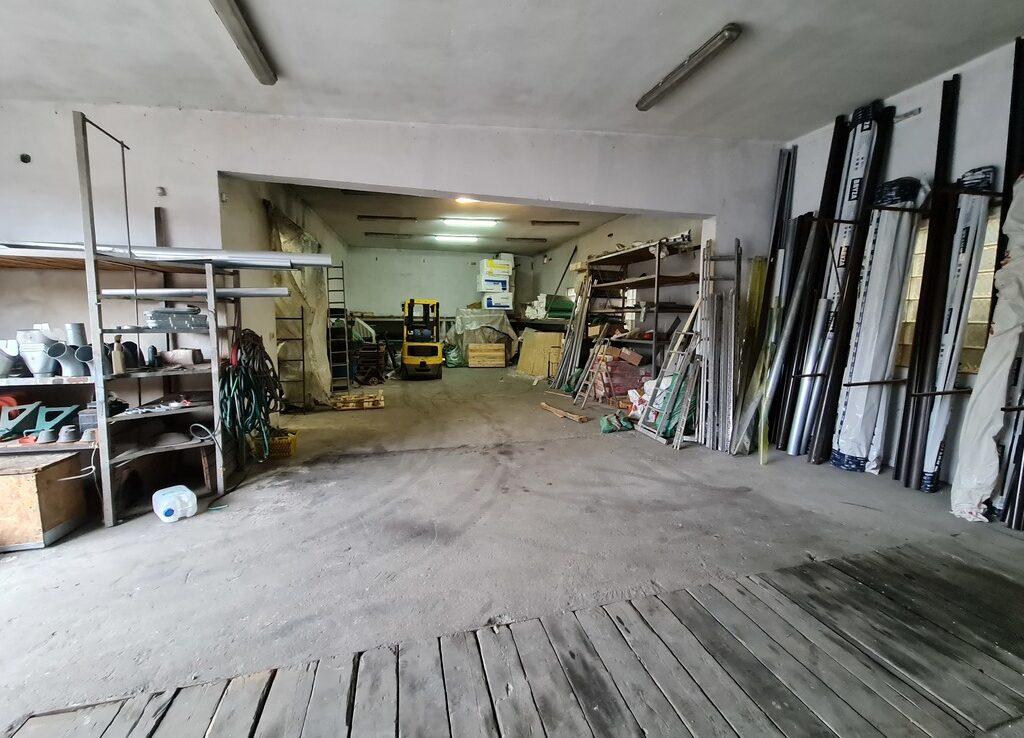 Obiekt magazynowo-handlowy z biurami w Szczecinie