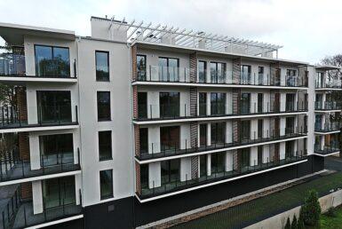 Nowe mieszkania nad morzem w budynku z windą..