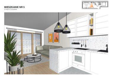 Mieszkanie 2pok. 42m2, nowe z 2020r.