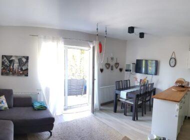 Trzypokojowe mieszkanie z balkonem