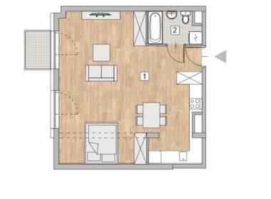 Luksusowy apartament na Starym Mieście