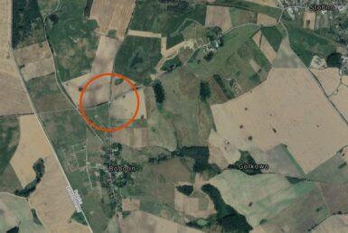 Działka budowlana 1125m2 w miejscowości Bobolin