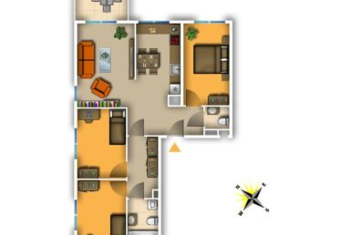 4 pokoje w nowym budynku na Warszewie