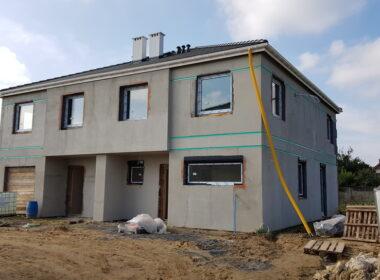 Dom w zabudowie bliźniaczej na Osowie