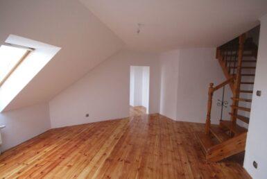 Gumieńce - 3 pokoje, dwa poziomy, piwnica