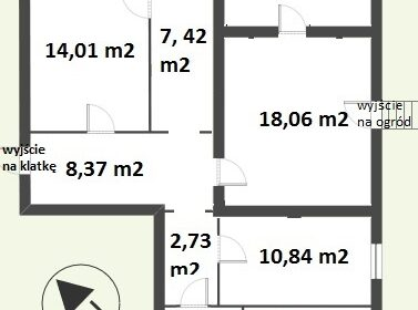 Wojska Polskiego - 87 m2 z ogródkiem