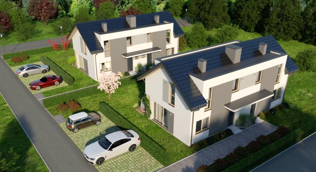 Dom w zabudowie bliźniaczej - Wołczkowo